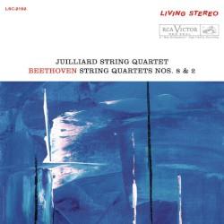 String Quartets Nos. 8 & 2 by Beethoven ;   Juilliard String Quartet